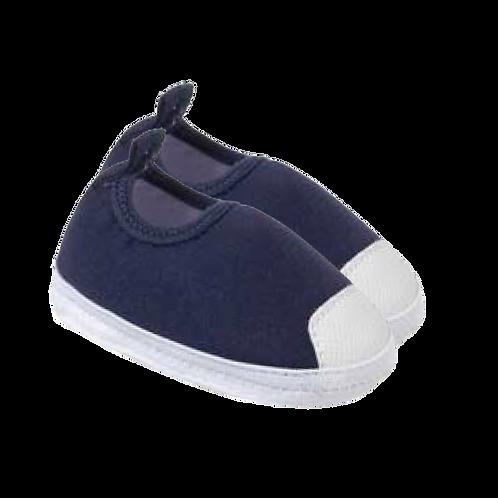 Tênis Bebê Calce Fácil Masculino Azul Marinho - Keto Calçados