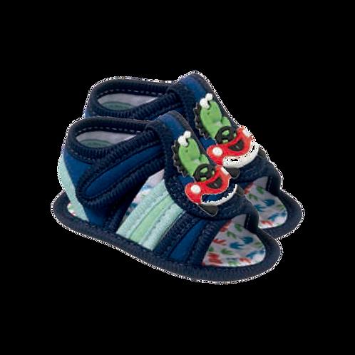 Sandália Bebê Masculino Azul Marinho - Keto Calçados