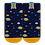 Thumbnail: Meia Bebê Masculino Azul Marinho Galáxia (20-23)
