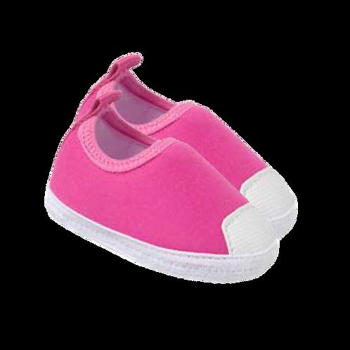 Tênis Bebê Calce Fácil Feminino Rosa - Keto Calçados