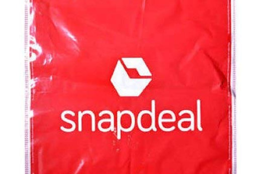 Snapdeal Courier Bag with POD (12X14 inch) (Address pouch)
