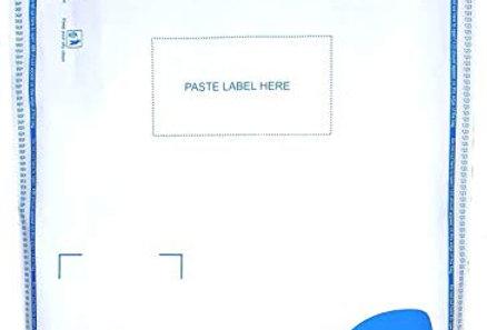 Flipkart Courier Bag with POD (10X12 inch) (Address pouch)