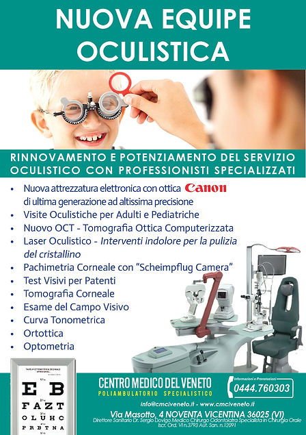 Volantino Oculistica 2019 Revisione Tizi