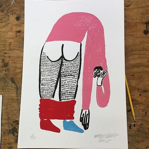 "4 Color 13"" x 19"" Jeffery Cheung Prints"