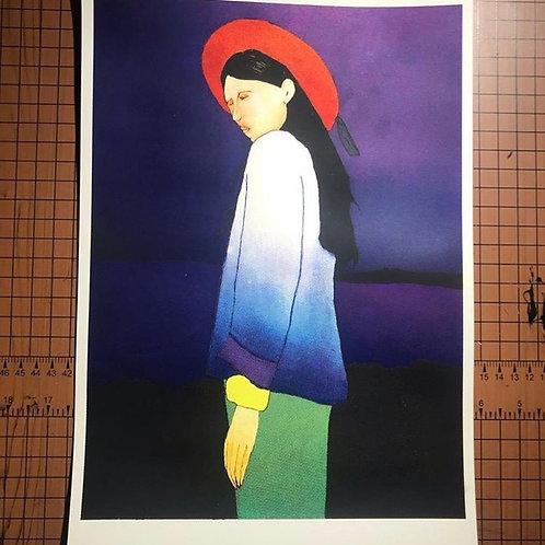 Four color print by Joshua Freitas