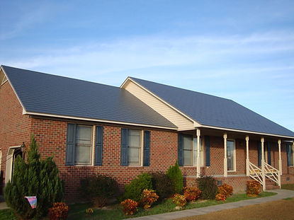 aluminum shingle roof