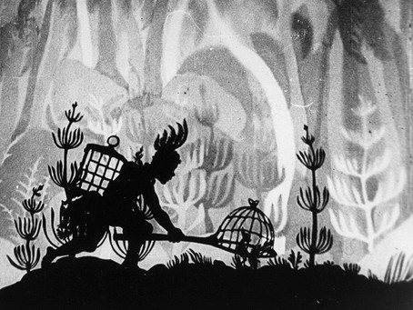 Page 3. OF SHADOWS, PAPAGENA AND LOTTE REINIGER.  By Heather Bills-Geddes.