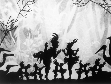 Page 5. OF SHADOWS, PAPAGENA AND LOTTE REINIGER.  By Heather Bills-Geddes.