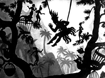 Page 4. OF SHADOWS, PAPAGENA AND LOTTE REINIGER.  By Heather Bills-Geddes.