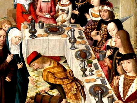 TEN FACTS ABOUT MEDIEVAL BANQUETS.