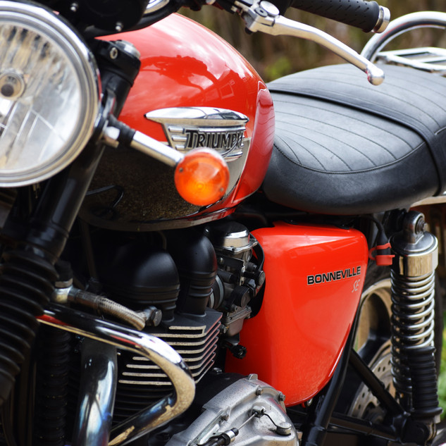 Triumph Bonneville up for sale!