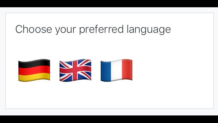 Moodle language picker