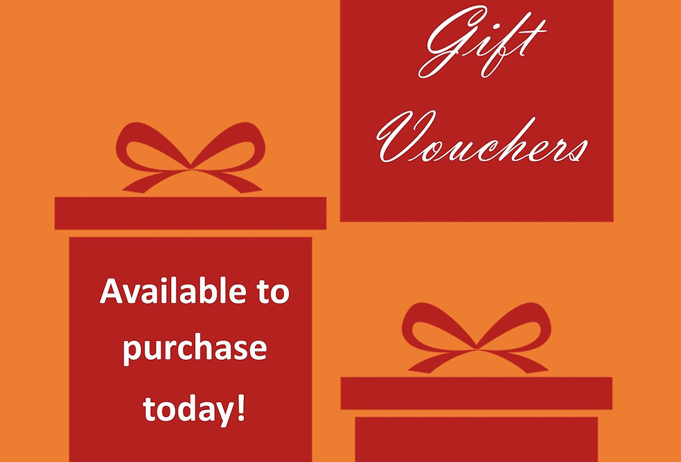 Gift Vouchers (£20 - £100)