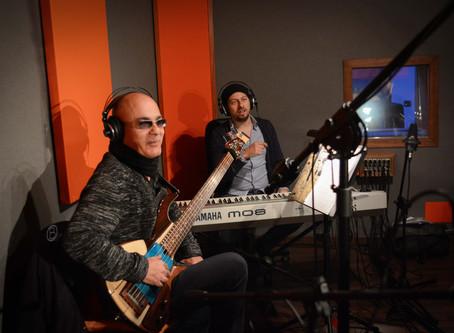 From the Space Trio in registrazione all'Avalon Studio