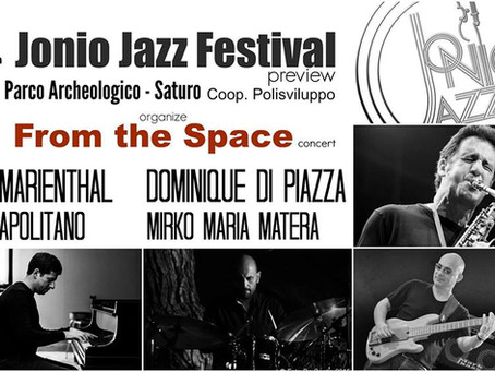 From The Space Trio + Eric Marienthal Special Guest live @ Parco Archeologico di Saturo