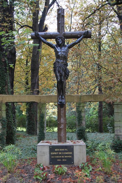 La croix érigée en 2014 pour commémorer les 150 ans de présence spiritaine à Chevilly-Larue