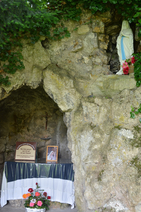 La grotte de Notre Dame de Lourdes