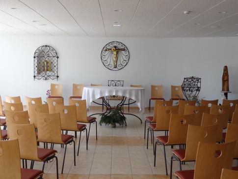 La chapelle du centre d'accueil