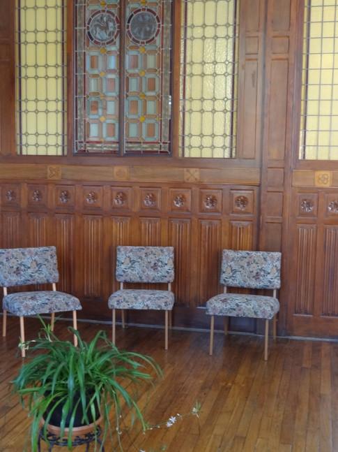 """La salle """"Amériques"""" du centre d'accueil"""