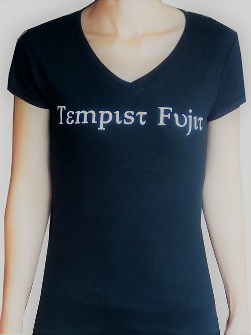 "Womans Black ""Tempist Fujit"""