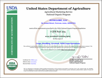 USDA NOP Accreditation