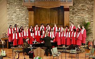 MPA Choir singing at MPA Church