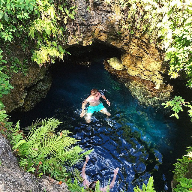 This is an excellent place if you want to experience in a Cenote without many people.