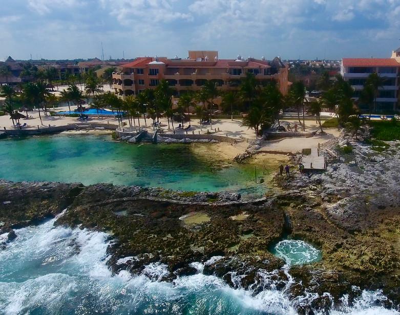 Vista desde el mar propiedad Beach Jacuzzi.jpeg