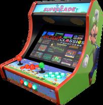 Supercade - RED, Luigi side (Cropped, FI