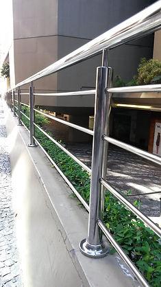 Guarda-corpo de aço Inox