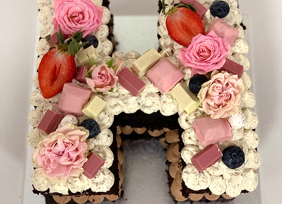 Letter/number Cake (individual)