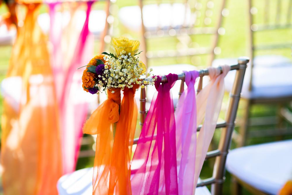 Ceremonia de boda, camino de boda