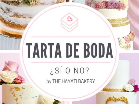 Pastel de boda: ¿sí o no?