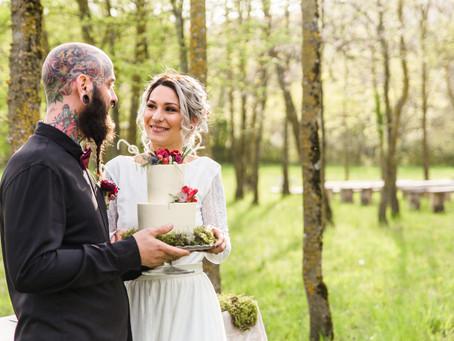Wild love, un elopement en el bosque
