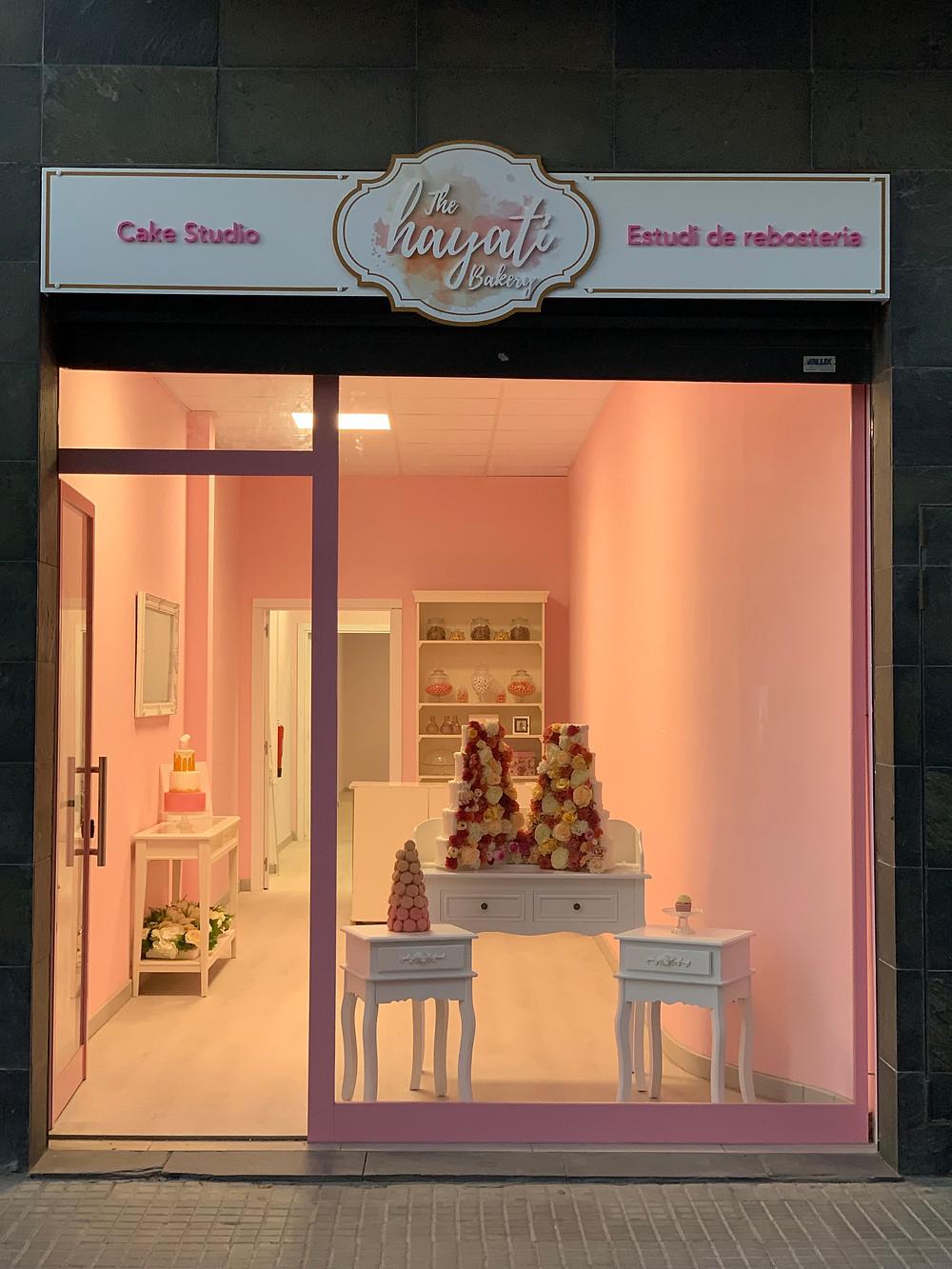 the hayati bakery shop, cake, pasteleria, pasteleros creativa, Maresme, Calella