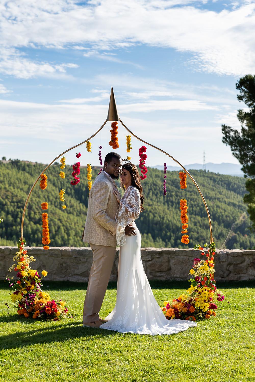Altar de boda estilo hindú