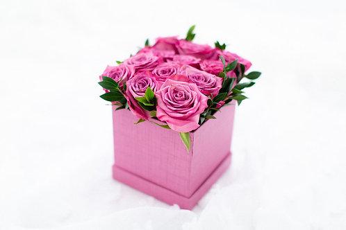 Rose Linen Box