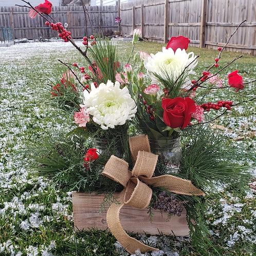 Woodland Winter Arrangement