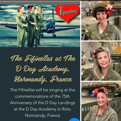 The Fifinellas at D Day Academy