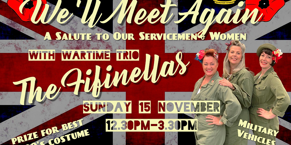 We'll Meet Again - A Salute To Our Service Men & Women