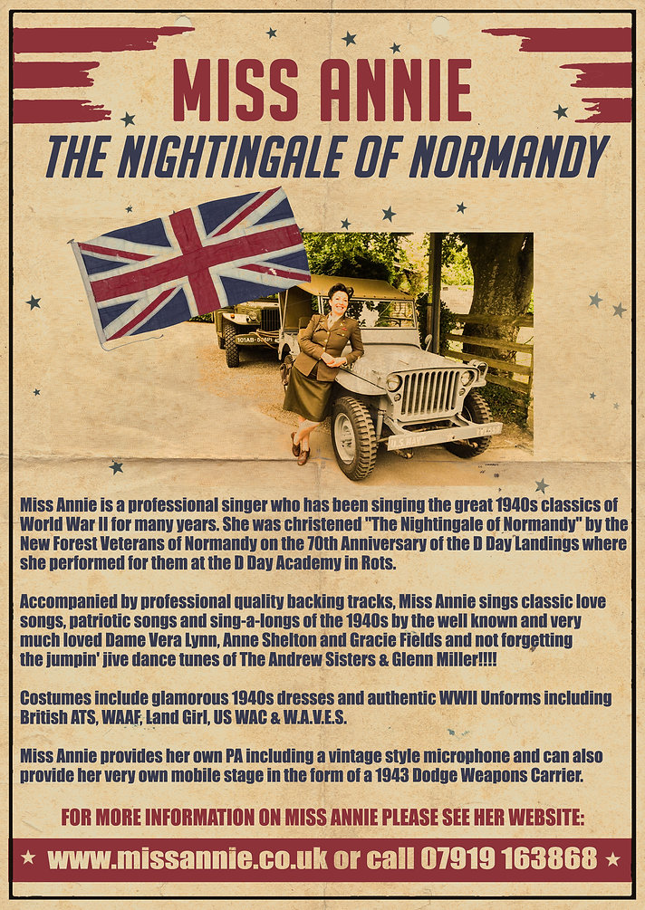 Miss Annie - The Nightingale of Normandy