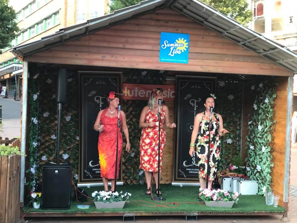 The Fifinellas Vocal Trio