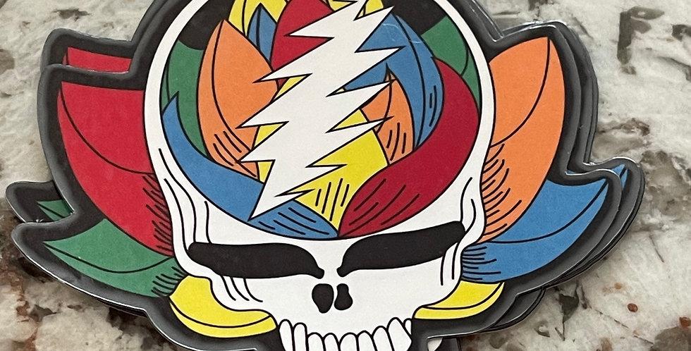 Dead Head Lotus Sticker