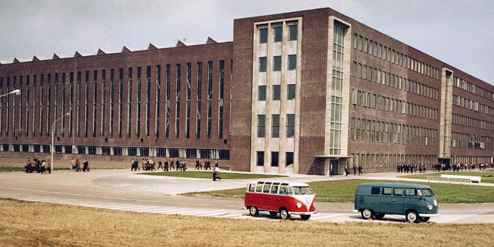 Bezoek aan VW fabriek in Hannover