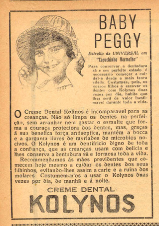 Baby Peggy ...