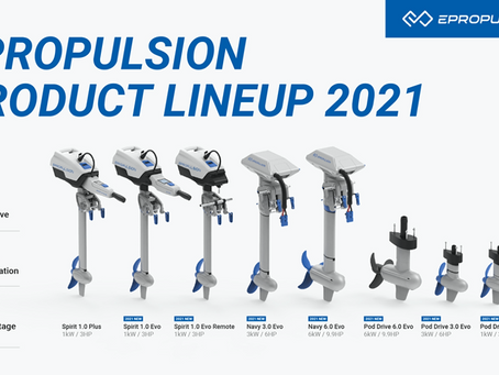 ePropulsion Introduces Seven New EVO Series Motors and Industry-First Hydrogeneration Capacities