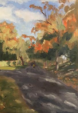 Path at Parc Le Ber 2020