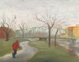 The Runner - at Lachine Canal 2020