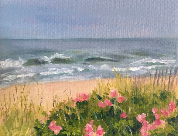 Wild Roses by the Sea 2020