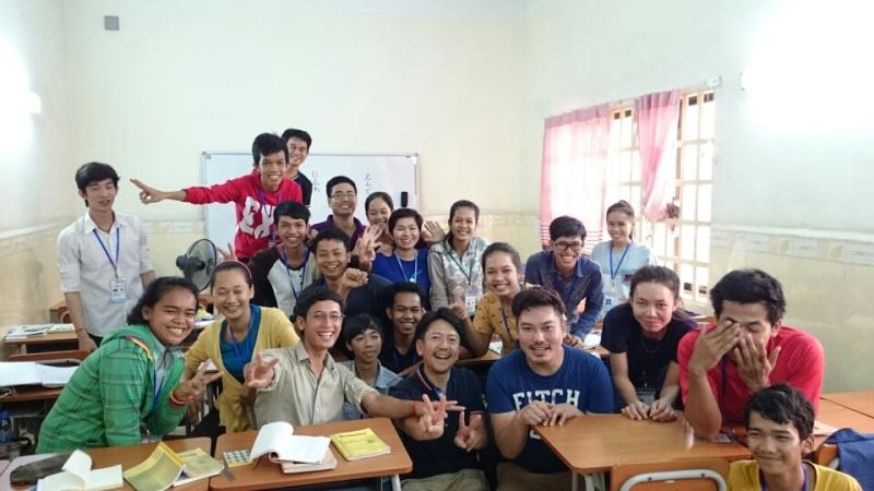 NGO団体の日本語学校